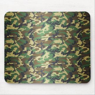 Standard Woodland Camo Mouse Pad