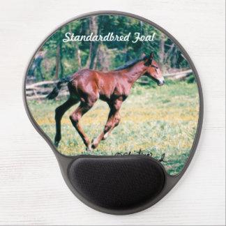 Standardbred Foal galloping Gel Mousepad