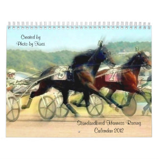 Standardbred Harness Horse Racing Calendar 2012