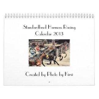 Standardbred Harness Racing Calendar 2013