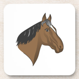 Standardbred Head Coaster