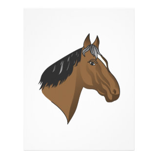 Standardbred Head Letterhead