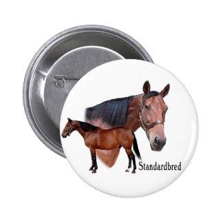 Standardbred Horse Button