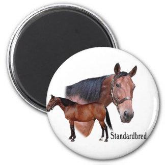 Standardbred Horse Magnet