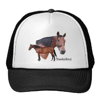 Standardbred Horse Trucker Hat