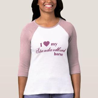 Standardbred horse tee shirt