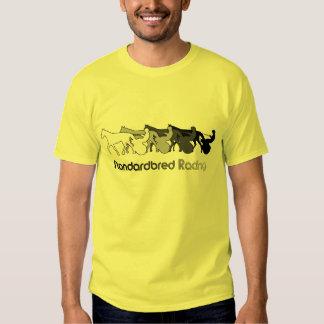 Standardbred Racing Silhouette T Shirt