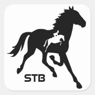 Standardbred Square Stickers