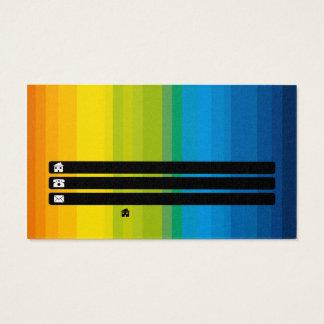 standardized design company business card
