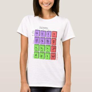 Standart model of elementary particles T-Shirt