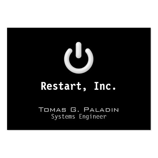 Standby Business Card