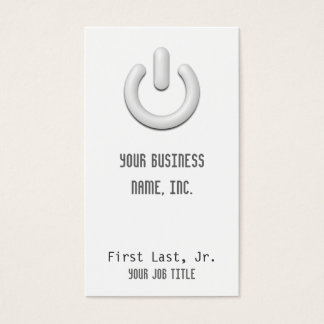 Standby (power) Button Business Card