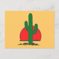 Ständerkaktus Kaktus cactus Post Cards