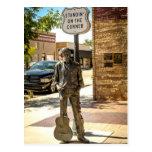 Standin en la esquina en Winslow, AZ. Postales