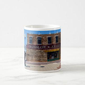 Standin' On The Corner Classic White Coffee Mug