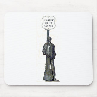 "Standin' on ""THE"" Corner! in Winslow Arizon Mouse Pad"