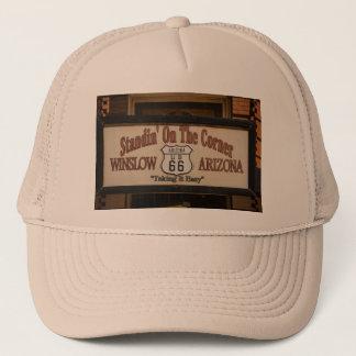 Standin' On The Corner in Winslow, AZ. Trucker Hat