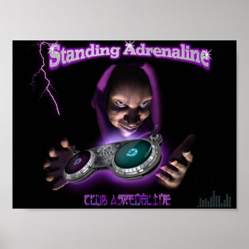 Standing Adrenaline Poster!