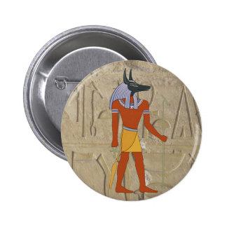 Standing Anubis Button