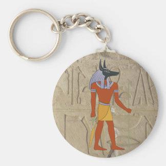 Standing Anubis Keychain