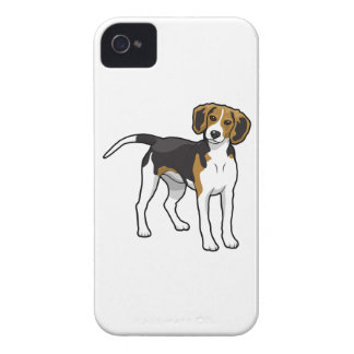 Standing Beagle iPhone 4 Covers