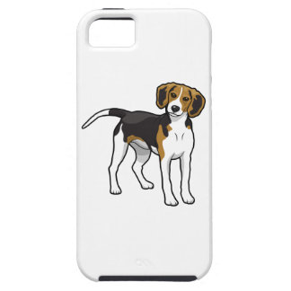 Standing Beagle iPhone SE/5/5s Case