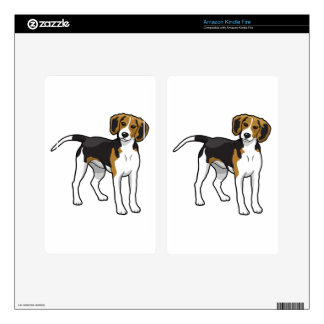 Standing Beagle Skins For Kindle Fire