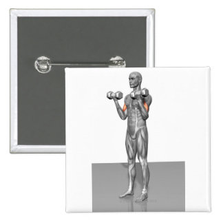Standing Biceps Curl 2 Button