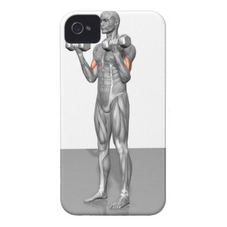 Standing Biceps Curl 2 iPhone 4 Cover