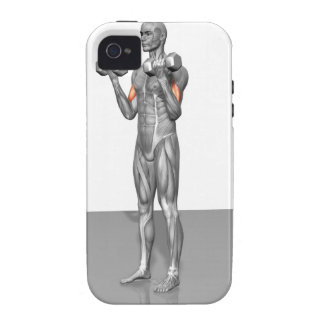 Standing Biceps Curl 2 Case-Mate iPhone 4 Covers