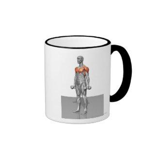 Standing Biceps Curl Coffee Mug