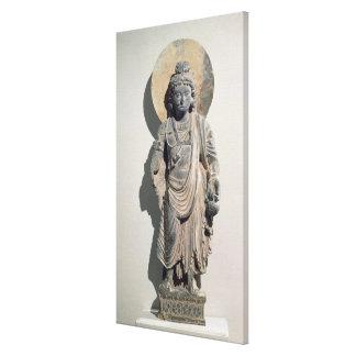 Standing Bodhisattva Maitreya, 3rd century Canvas Print