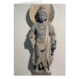 Standing Bodhisattva Maitreya, 3rd century Card
