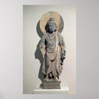 Standing Bodhisattva Maitreya, 3rd century Poster