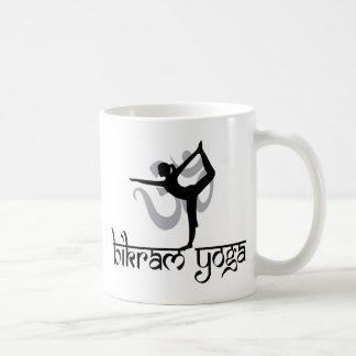 Standing Bow Pulling Pose Bikram Yoga Gift Classic White Coffee Mug