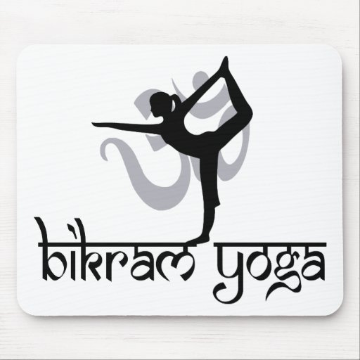 Standing Bow Pulling Pose Bikram Yoga Gift Mouse Pads