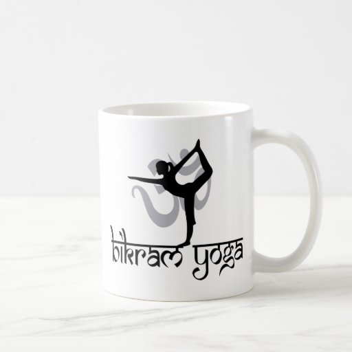 Standing Bow Pulling Pose Bikram Yoga Gift Mug