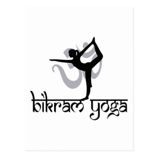 Standing Bow Pulling Pose Bikram Yoga Gift Postcard