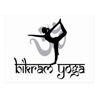 Standing Bow Pulling Pose Bikram Yoga Gift Postcards