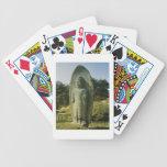 Standing Buddha at Ch'olch'on-ni, Naju, 10th centu Bicycle Playing Cards