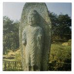 Standing Buddha at Ch'olch'on-ni, Naju, 10th centu Ceramic Tile