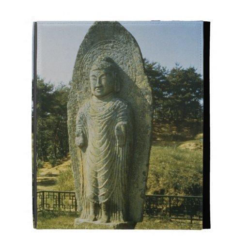 Standing Buddha at Ch'olch'on-ni, Naju, 10th centu iPad Folio Covers