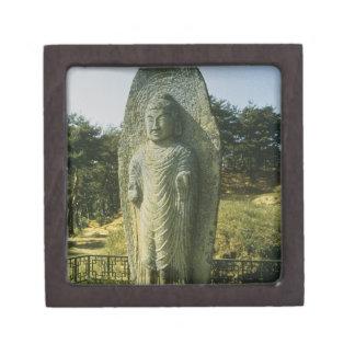 Standing Buddha at Ch'olch'on-ni, Naju, 10th centu Jewelry Box