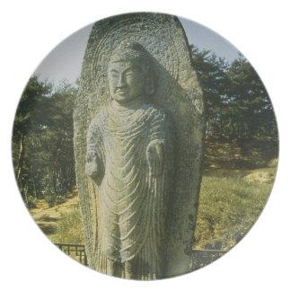 Standing Buddha at Ch'olch'on-ni, Naju, 10th centu Melamine Plate
