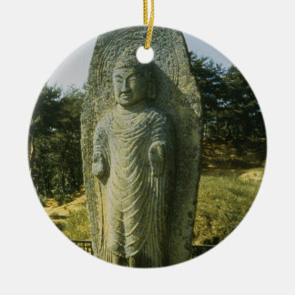 Standing Buddha at Ch'olch'on-ni, Naju, 10th centu Christmas Ornament