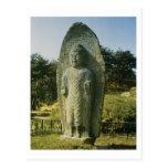 Standing Buddha at Ch'olch'on-ni, Naju, 10th centu Postcard