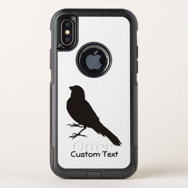 Standing Canary Bird OtterBox Commuter iPhone XS Case