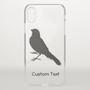 Standing Canary Bird iPhone XS Case