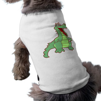 Standing Cartoon Alligator Tee