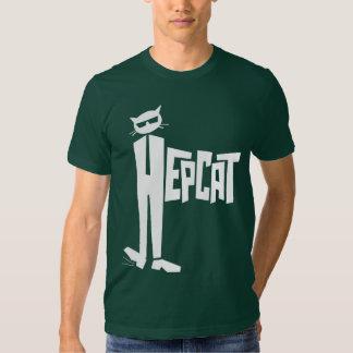Standing-Cat logo T Shirt